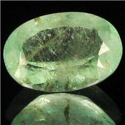 6.15ct Frosty Mint Green Colombian Emerald (GEM-44494)