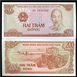 1987 Vietnam 200 Dong Crisp Uncirculated (CUR-06263)