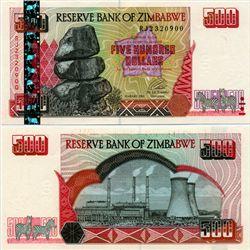 2001 Zimbabwe $10 Note Crisp Unc (CUR-07133)