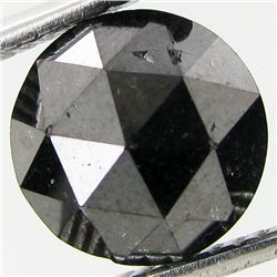 2.85ct Rose Cut Black Diamond Pear (GEM-7801)