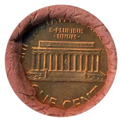 1964D Linc 1c BU RARE UnOpened Bank Roll 50 GEMS (COI-5513)