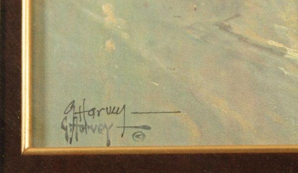 G Harvey Pinnacle of Freedom Signed LE Print