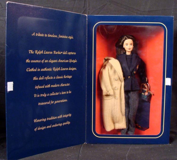 c4130a64d8 Bloomingdales Limited Ed Ralph Lauren Barbie Doll MIB. Loading zoom