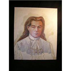Man In The Iron Mask Leonardo DiCaprio Oil Painting