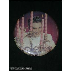 Liberace Circular Photo With Candelabra