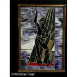 Sammy Davis Jr. Stained Glass Mirror