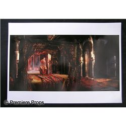 Underworld: 3 Sonja's (Rhona Mitra) Bedroom Artwork