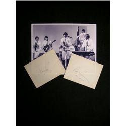 Paul Revere & The Raiders Signatures