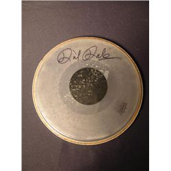Dick Dale Signed Drum Head
