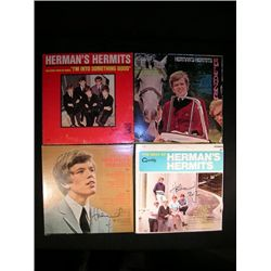 Peter Noone Signed LP's.