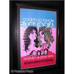 Alice Cooper Framed Poster