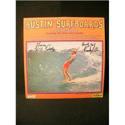 Bustin Surfboards Signed Album
