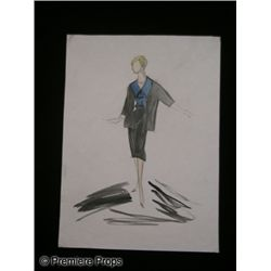 Edith Head Costume Sketch from The Lucy Show