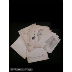 Vintage Studio Costume Sketches