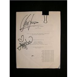 'What A Girl Wants' Signed Script