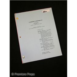 Vampire in Brooklyn Script