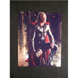 Chris Hemsworth 'Thor' Signed Photo