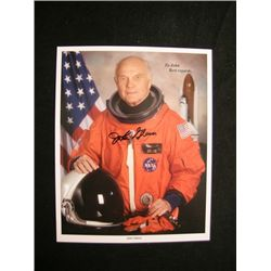 Sen. John Glenn Signed Photo