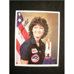 Sally Ride Signed Photo