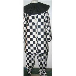 Pierrot Checker Men's Costume