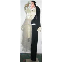 Half Bride Half Groom Costume