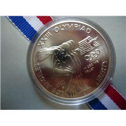 1983-P US OLYMPIC UNC SILVER DOLLAR