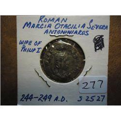 244-249 AD ANCIENT ROMAN COIN
