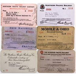 "Incredible Rail Pass Collection  - , - c1880-1950 - 2012aug - ""Railroadiana"""