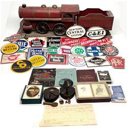 "Railroad Model, Memorabilia, and Ephemera c1882-1944 - 2012aug - ""Railroadiana"""