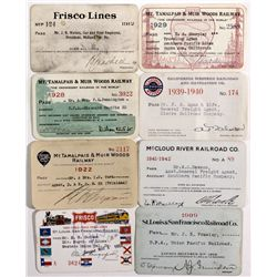 "California Rail Pass Collection CA - 2012aug - ""Railroadiana"""