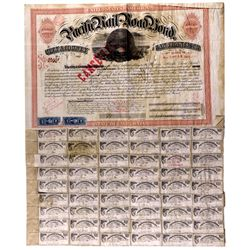 """Pacific Railroad Bond ~ Rare CA - , - 1895 - 2012aug - """"Railroadiana"""""""
