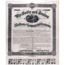 "Bodie and Benton Railway Documents CA - Bodie,Mono County - 2012aug - ""Railroadiana"""