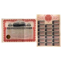 """Death Valley RR Bond Signed by Borax Smith CA - Death Valley,Inyo County - c1924 - 2012aug - """"Railro"""