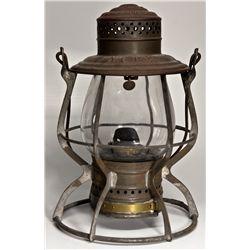 "Nevada Central Tall-Globe Railroad Lantern NV - Austin,Lander County - c1892 - 2012aug - ""Railroadia"