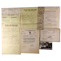 "Nevada Railroad Documents NV - Austin,Lander County - c1900 - 2012aug - ""Railroadiana"""