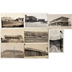 "Elko Railroad Postcard Group NV - Elko,1900 - 2012aug - ""Railroadiana"""