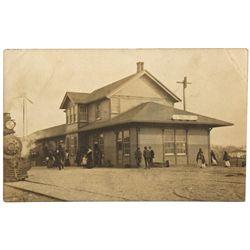 "Fallon Postcard NV - Fallon,Churchill County - 1908 - 2012aug - ""Railroadiana"""