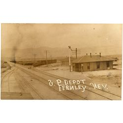 "Southern Pacific Fernley Depot Postcard NV - Fernley,Lyon County - 2012aug - ""Railroadiana"""
