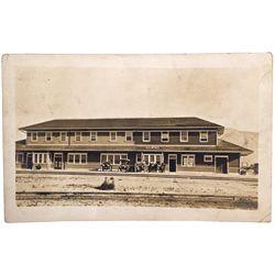 "Gerlach Postcard NV - Gerlach,Washoe County - 1912 - 2012aug - ""Railroadiana"""