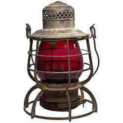 "Tonopah & Goldfield Railroad Lantern NV - Tonopah,Nye County - c1905 - 2012aug - ""Railroadiana"""