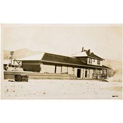 "Verdi Postcard NV - Verdi,Washoe County - 2012aug - ""Railroadiana"""