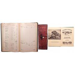 "Virginia & Truckee Railroad Cash Ledger and Wallet NV - Virginia City,Storey County - 2012aug - ""Rai"