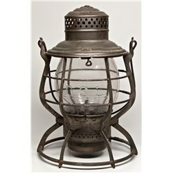 "Oregon Short Line Globe Lantern OR - c1909 - 2012aug - ""Railroadiana"""