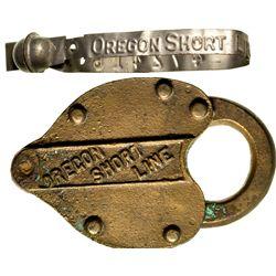 "Oregon Short Line Railroad Lock OR - c1877-1900 - 2012aug - ""Railroadiana"""