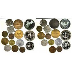 Nevada Token Collection NV - 2012aug - Brothel