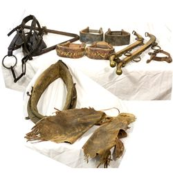 Cowboy Horse Tack c1900 - 2012aug - Cowboy & Native American