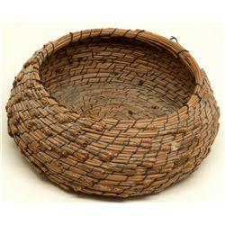 Tahoe Pine Needle Basket  - , -  - 2012aug - Cowboy & Native American