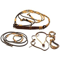Horse Bosal, Mecate Reins, and Hobbles CA - Pasadena,Los Angeles County - 1970-1980 - 2012aug - Cowb