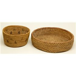 Paiute Basket Duo NV - , -  - 2012aug - Cowboy & Native American