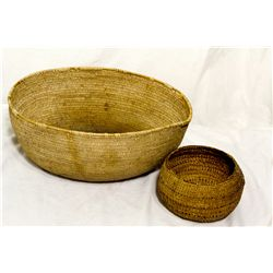 Western Shoshone Baskets NV - Ruby Valley,Elko County - c1920s-40 - 2012aug - Cowboy & Native Americ
